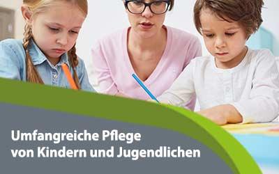 Umfangreiche-Pflege-von-Kindern